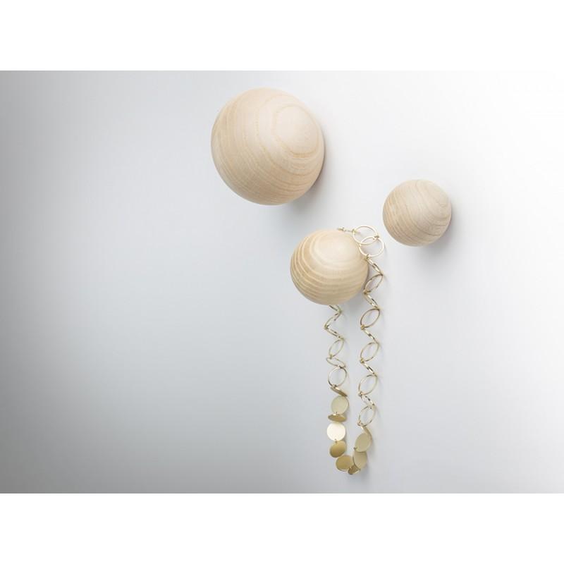 BALLS Garderobenhaken, 3er Set von kommod