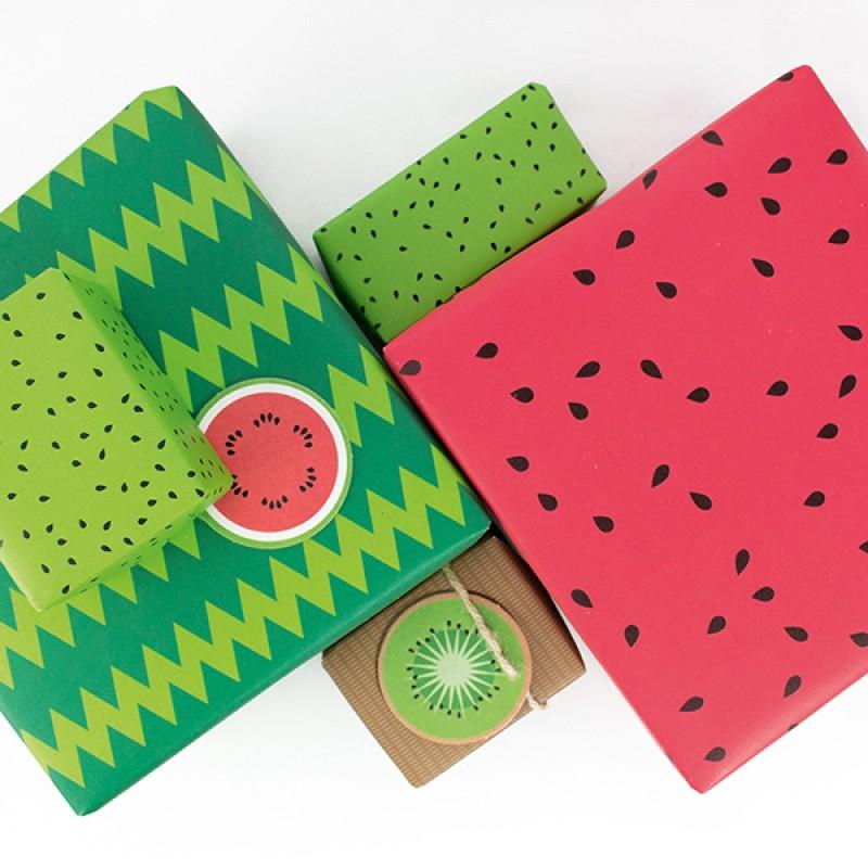 Bow & Hummingbird Freche Früchte Geschenkverpackungs-Set