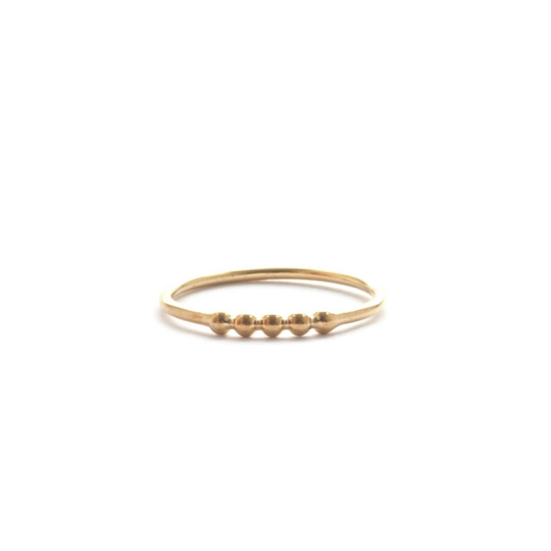Irene Sator RING GRETA gold