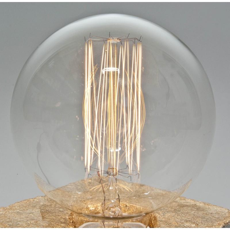 LJ LAMPS Edisonlampe Glühbirne Vintage Globe 40 Watt