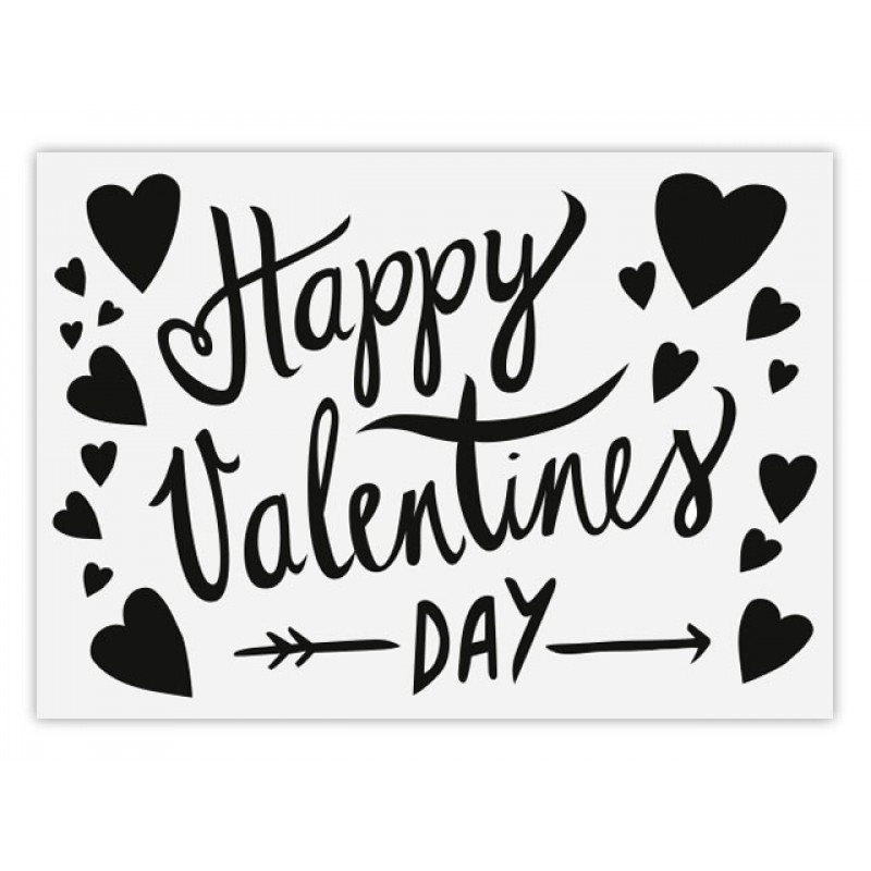 Perunoto Postkarte Happy Valentine's Day