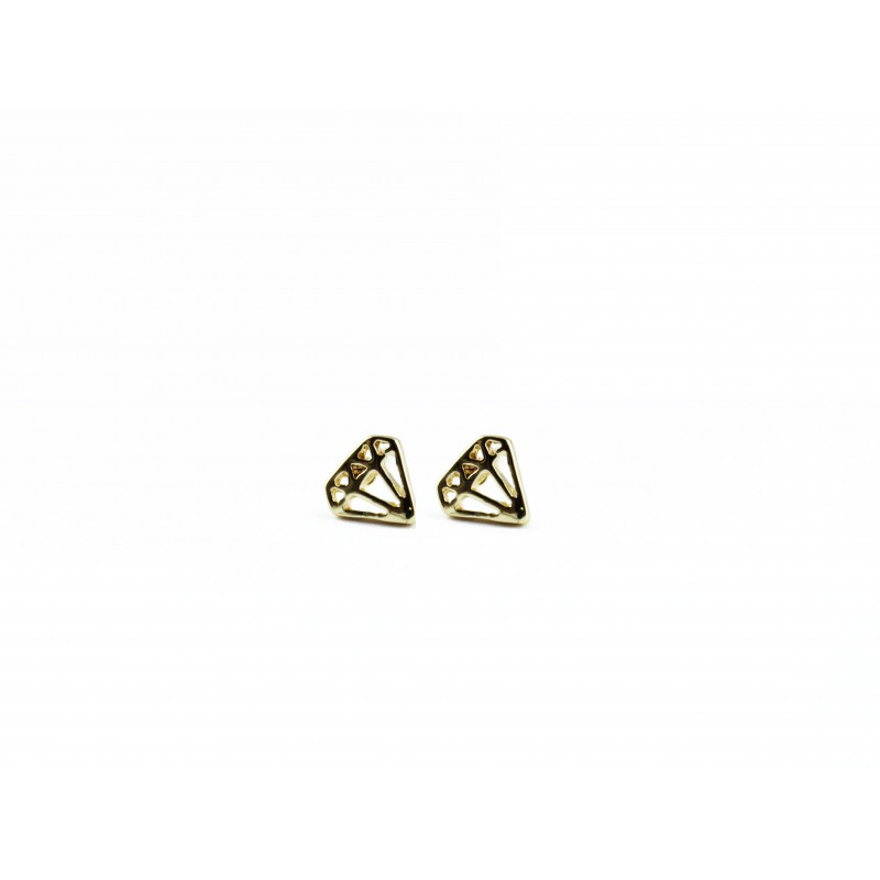 Anoa Diamant in Gold Ohrstecker