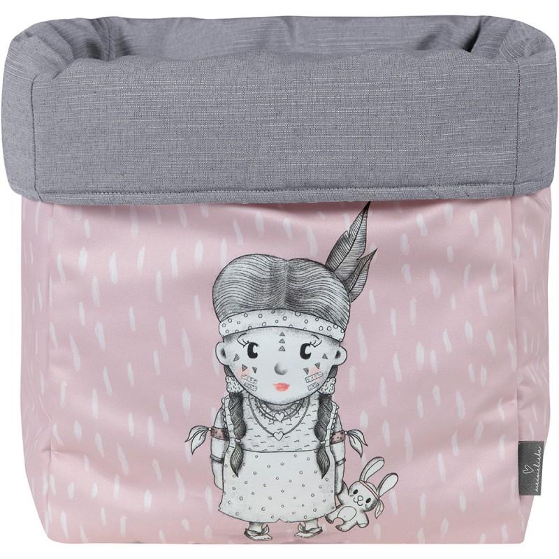 MEINE LIEBE – BOX AKUNA ROSE GROSS 33x33x33cm