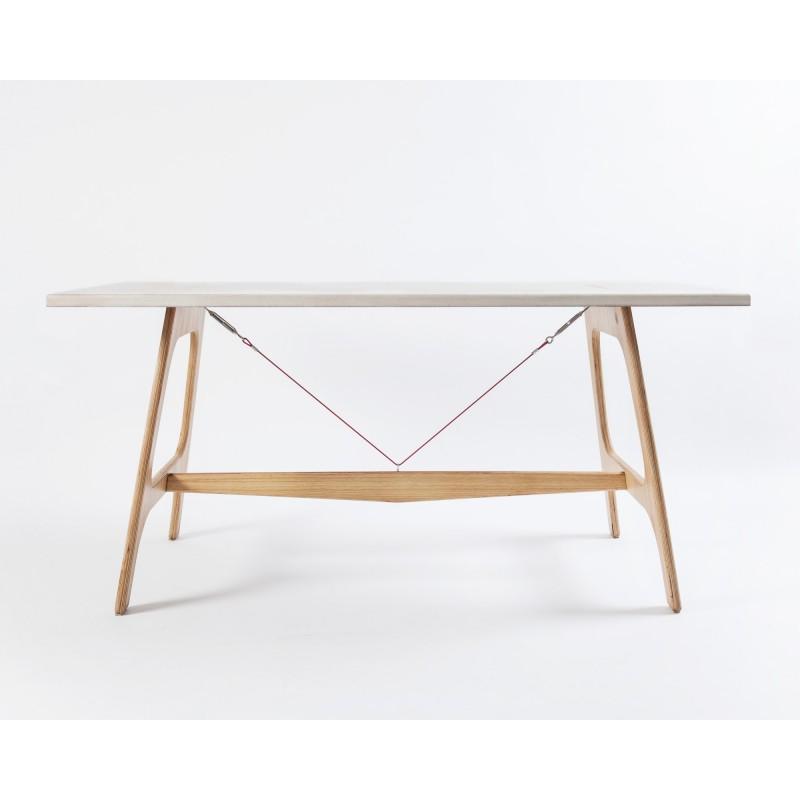 Pirol Furnituring Pit Frame, Tisch (MDF/ 160cm | Beine, Eiche/Natur)