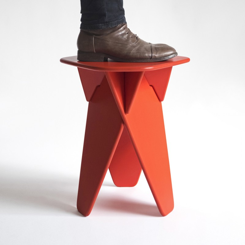 caussa | Wedge Table | rot