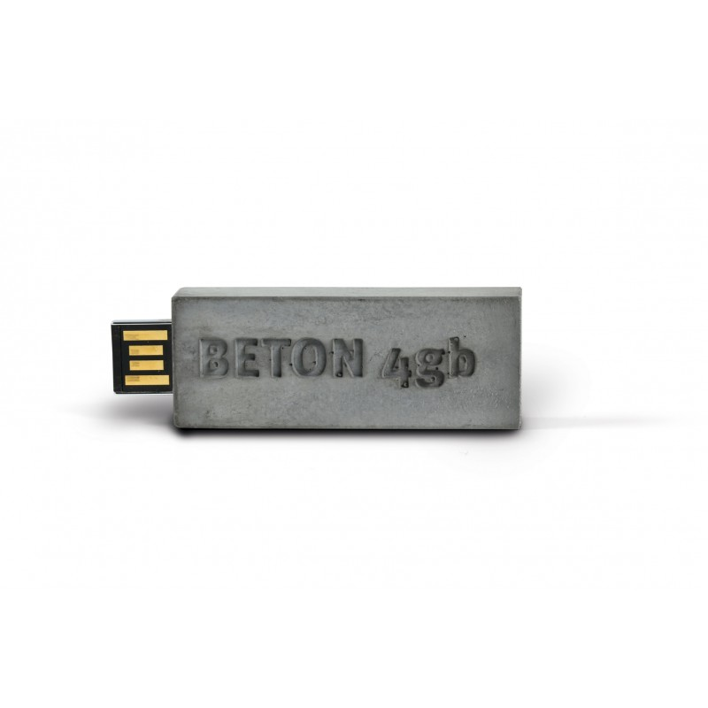 Korn Produkte USB Stick aus Beton