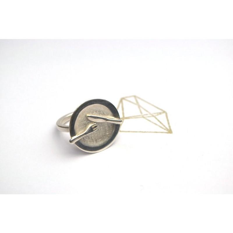 TAFELSILBER  Ring