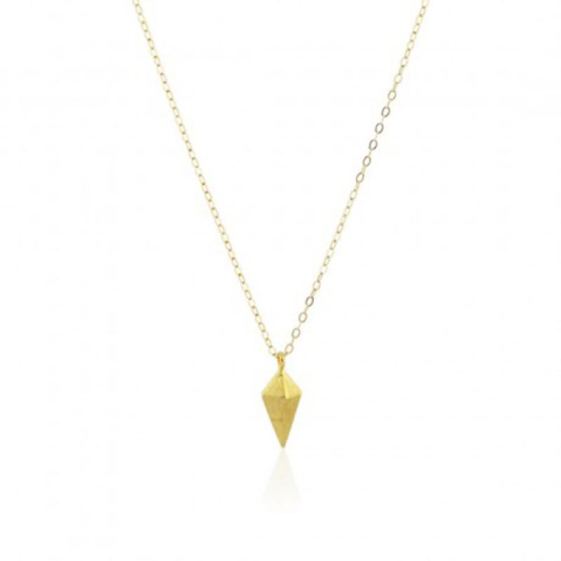 Anoa Kette 'Goldener Kristall'