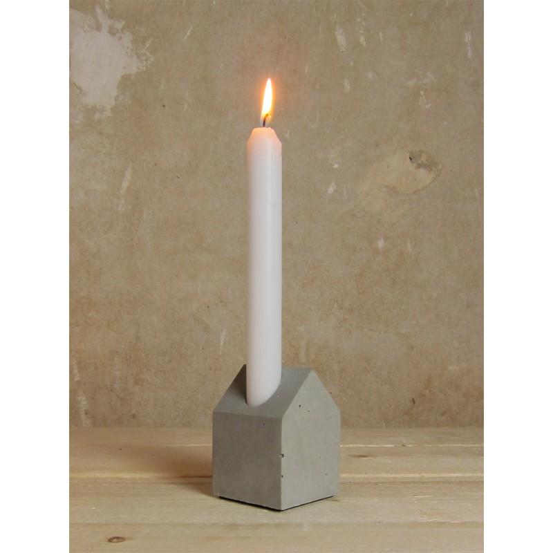 Lalupo Betonbude_Haus Kerzenhalter Aus Beton