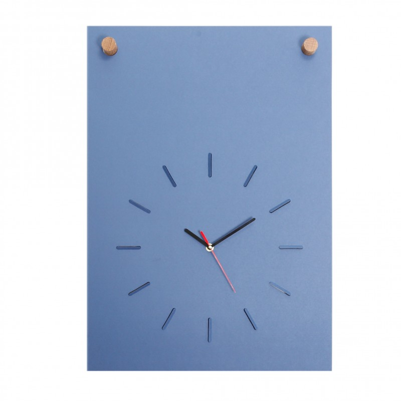 FUNDAMENTAL BERLIN POSTER CLOCK Poster-Wanduhr