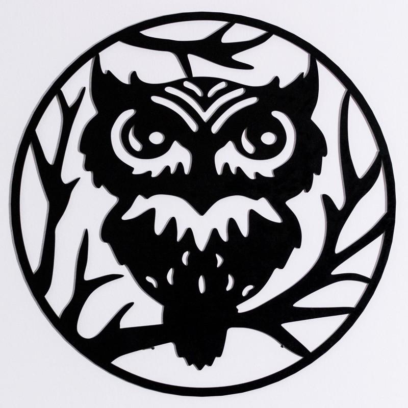 Frau Schneize Wanddeko OWL, 45cm