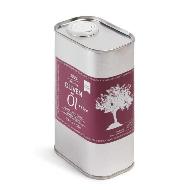TASTE & STORIES Extra Vergine Olivenöl, leicht fruchtig (0,5 Liter)