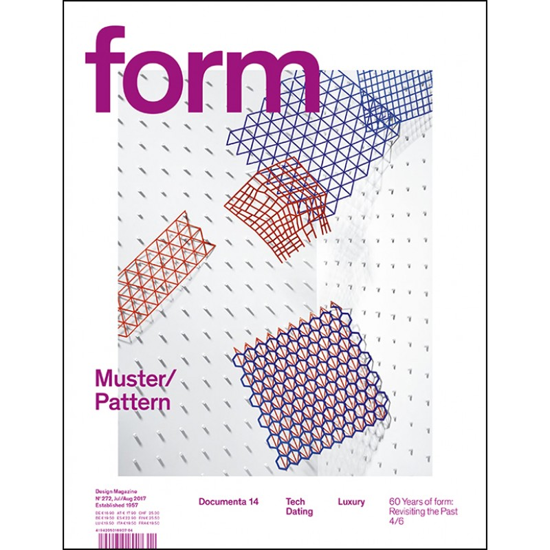 form N° 272. Muster/Pattern