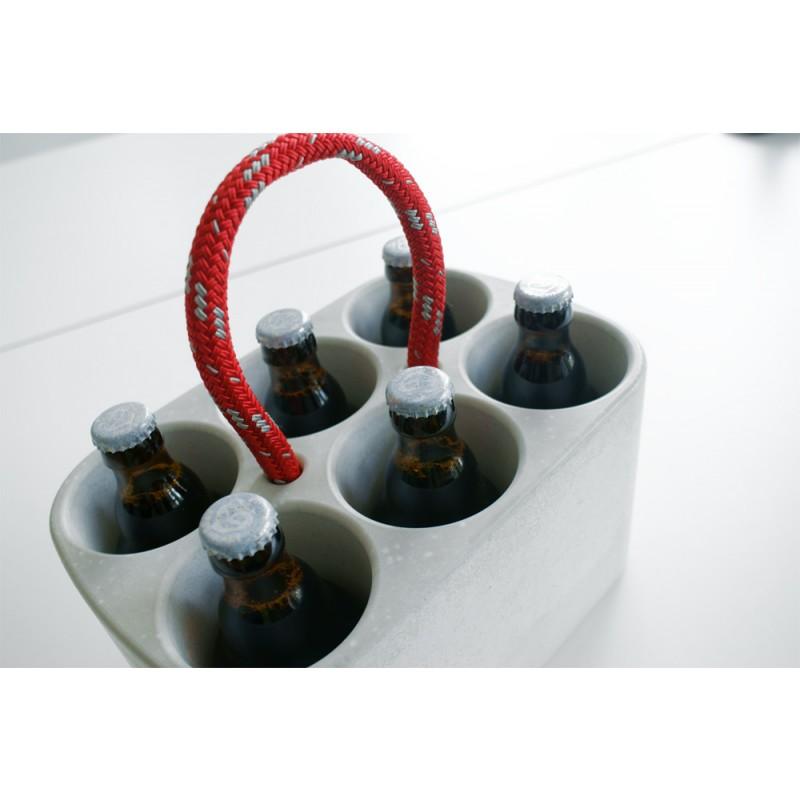Ambientshop Handge-Pack: Der Flaschenkühler aus handgegossenem Beton - Made in Uptown Hamburg
