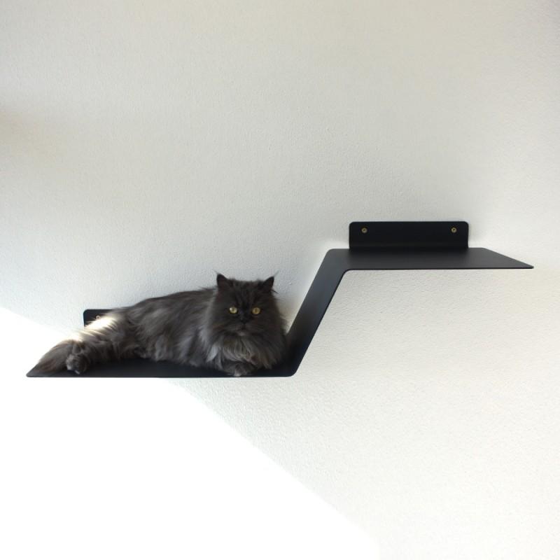 Design Sebastian Frank - PET BOARD WAVE - Katzenmöbel aus Metall