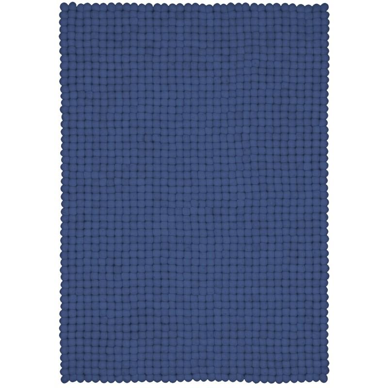 myfelt Filzkugelteppich Mavi rechteckig