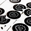 Kleine Papeterie // Für Euch // Sticker // Handlettering