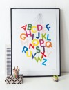 """Held&Lykke ABC-Poster """"ABCircus"""" (DIN A2)"""