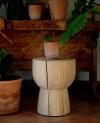 OnePieceWood – couchtisch - tulip shape - natural beech