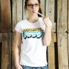 "KINDERGELD ORGANIC Womens Roll Sleeve T-Shirt ""HERRMANN"" (INFANTIL)"