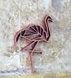 NOGALLERY Flamingo - Holz Motiv Deko