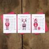 Bow & Hummingbird Grußkarten Nussknacker & Freunde