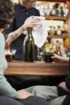 SAMESAME No 06 4er Set - Upcycling Stapelbecher aus verschiedenfarbigen Weinflaschen (4er-Set)
