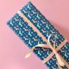 HEIMATFORMAT Geschenkpapier WALDI dunkelblau // inkl. Versand