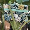 We Make Patterns - Laptop Bag Jungle - Green/Blue