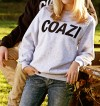 Coazi Label Sweater Grey Female
