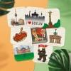 Stadtliebe® | Berlin Bierdeckel Postkarten-Set 8 Stück