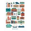 Human Empire Stadt Bremen Poster (50x70cm)