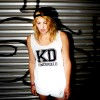 "KINDERGELD ORGANIC Womens Loose Fit Tank ""KD"""