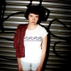 "KINDERGELD ORGANIC Womens Roll Sleeve T-Shirt ""HANS"" (KINDERRIEGEL)"