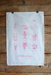 zita products - ULLA Geschirrtuch pink