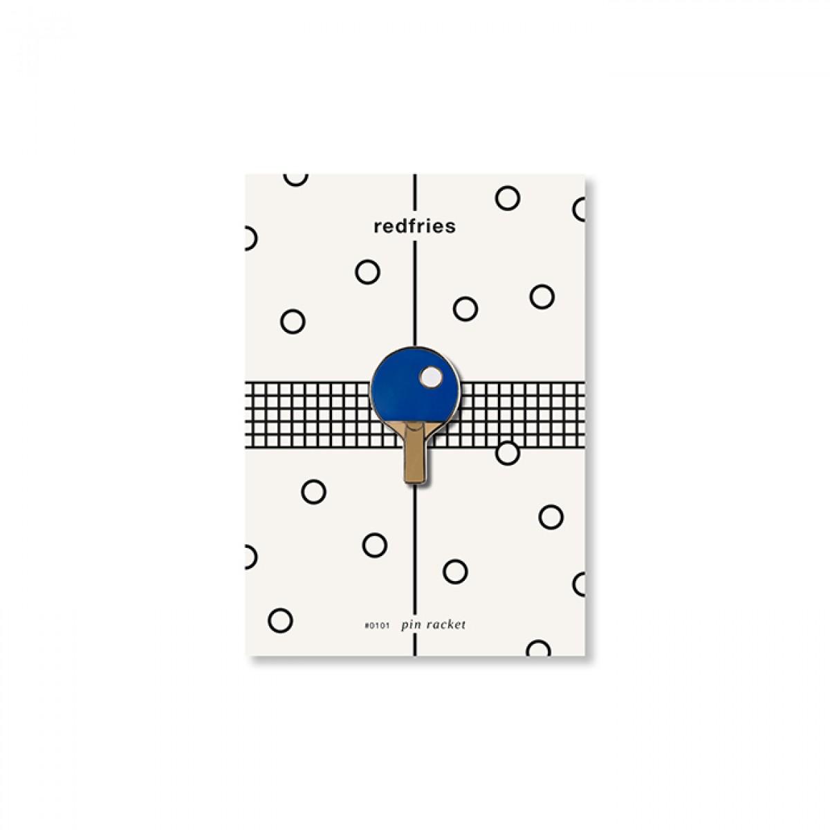 redfries pin racket – Pin Hartemaille