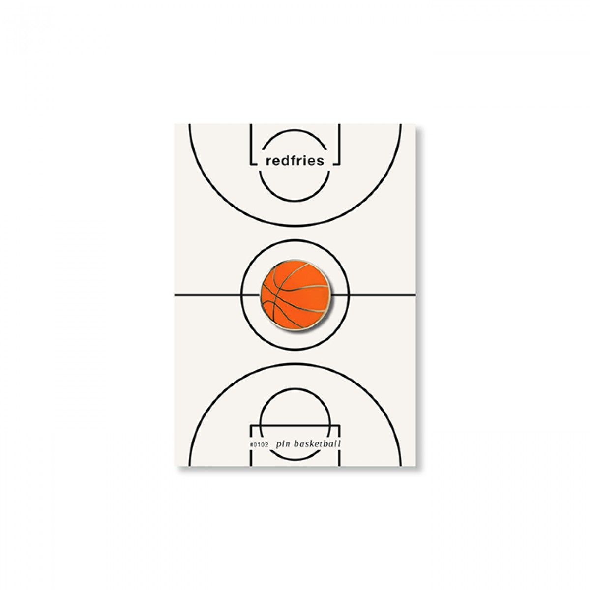 redfries pin basketball – Pin Hartemaille