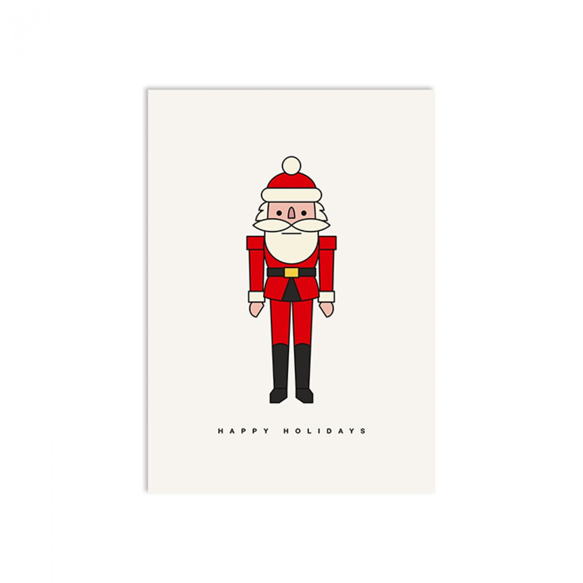 redfries happy claus – Postkarte DIN A6
