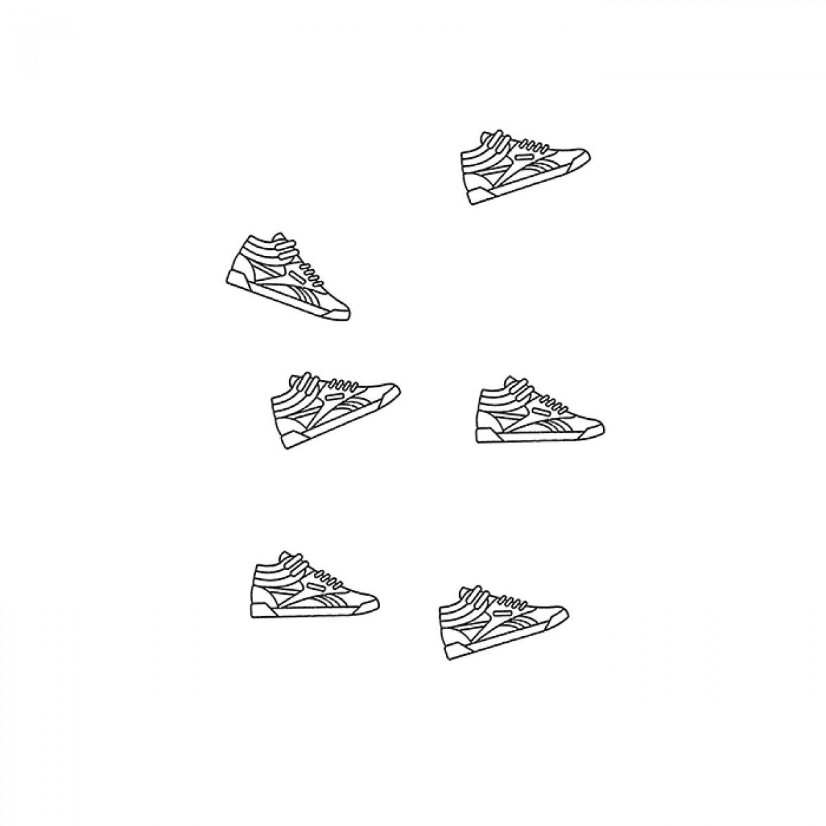 redfries stamp sneaker – Stempel