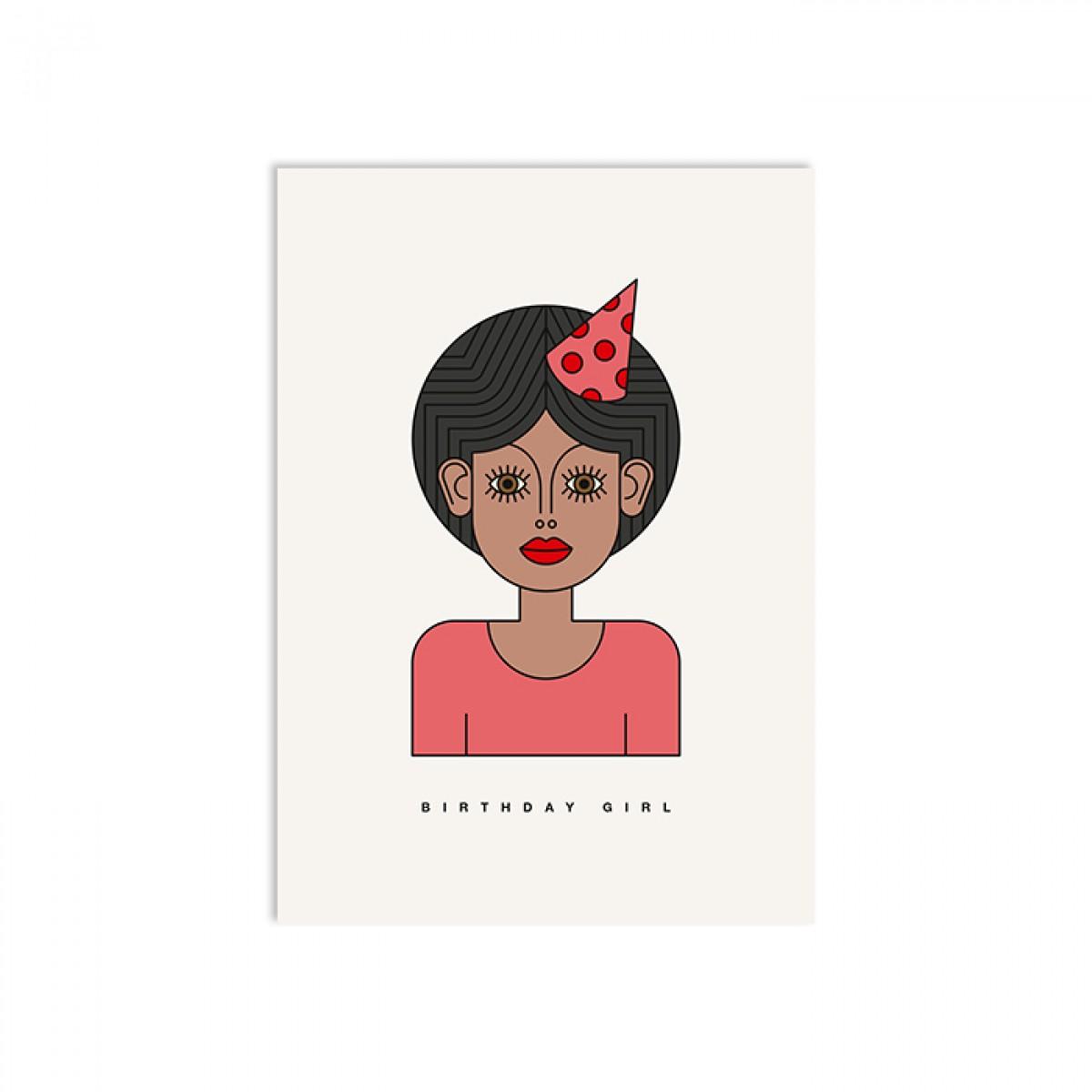 redfries asta – Postkarte DIN A6