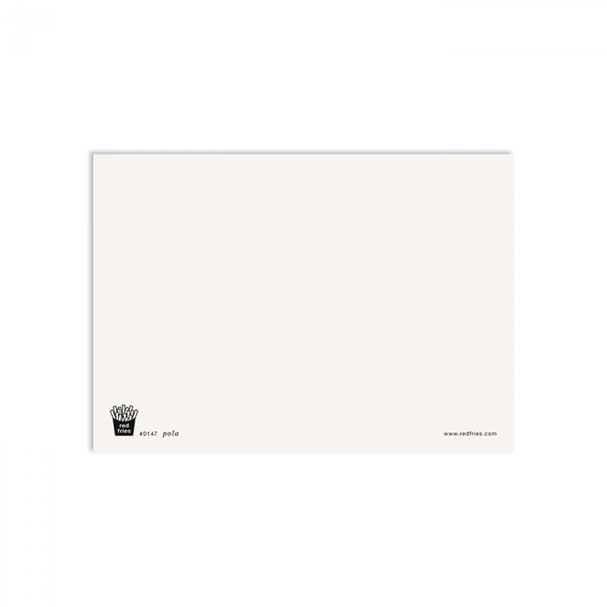 redfries pola – Postkarte DIN A6