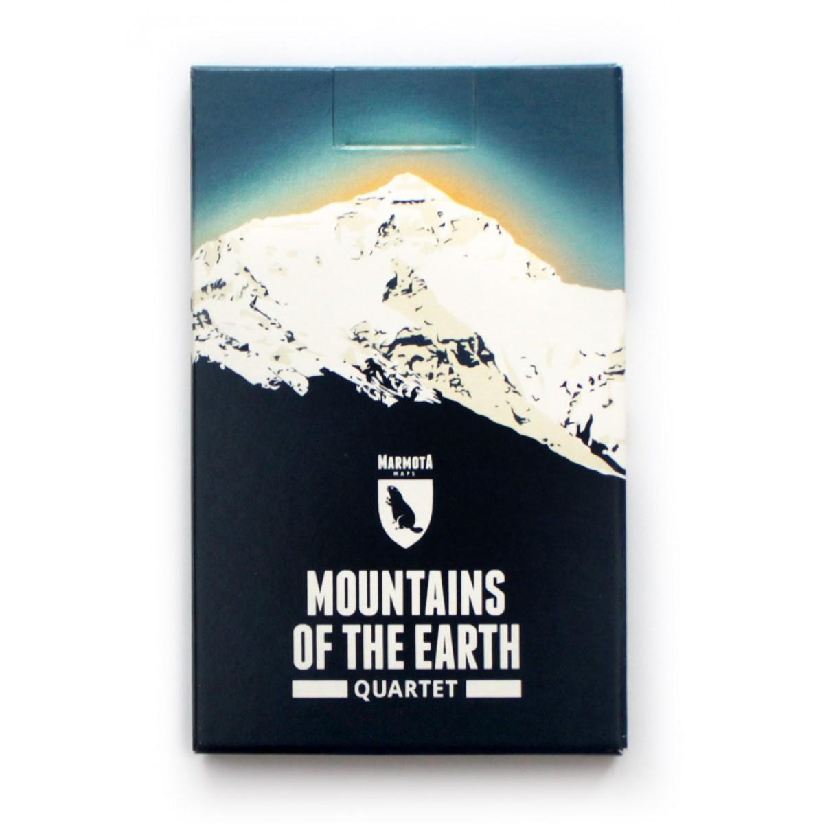Marmota Maps – Mountains of the Earth Quartett