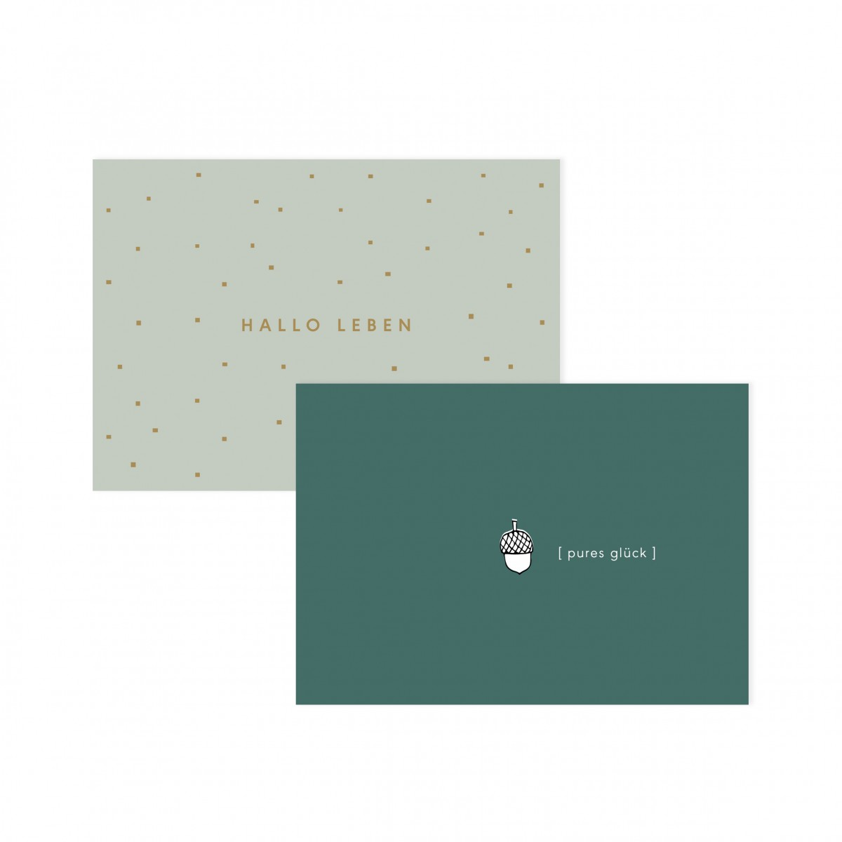 Daheim Sein –   Postkartenset: Für alle Fälle