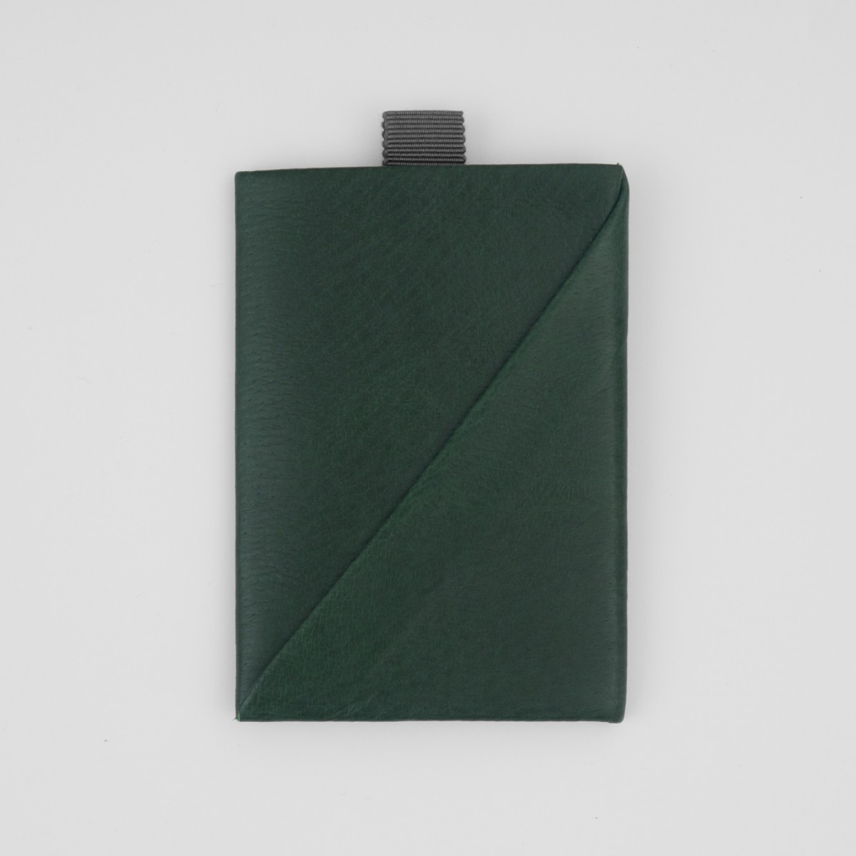 VANOOK Card Case Vertical / Malachite