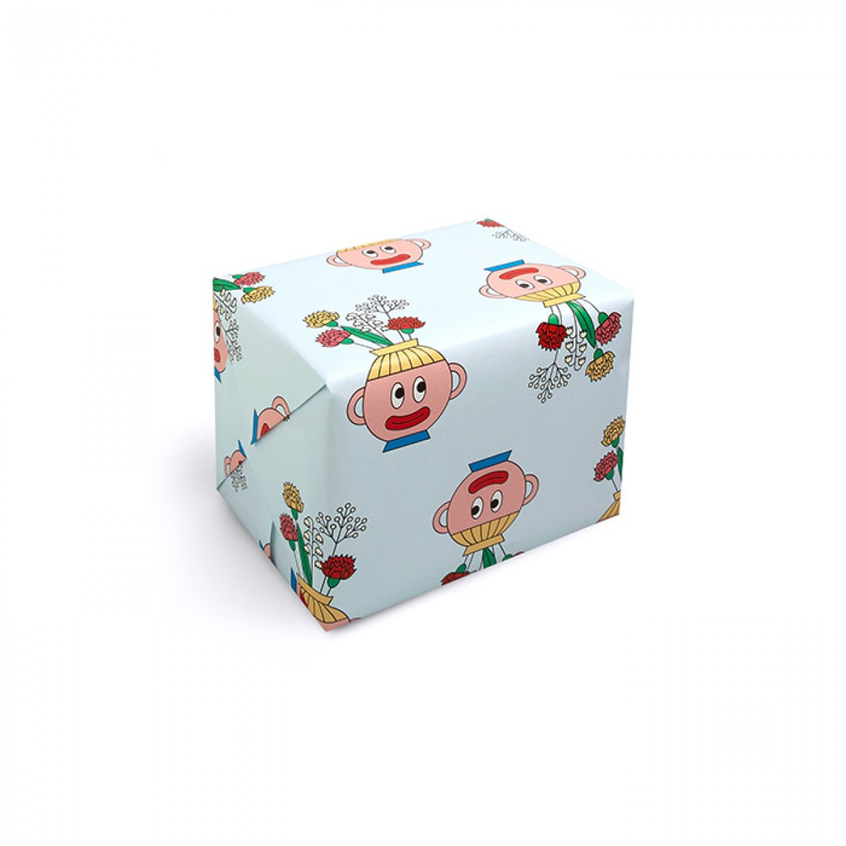 redfries wrap flower head – Geschenkpapier DIN B2, 3 Bögen
