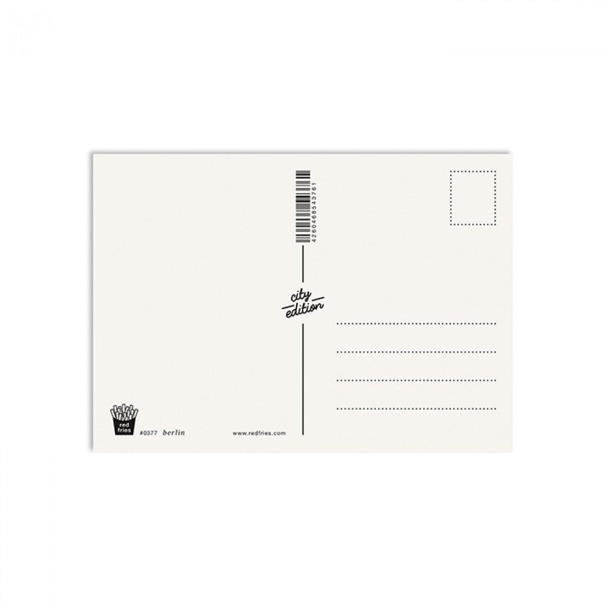 redfries berlin – Postkarte DIN A6