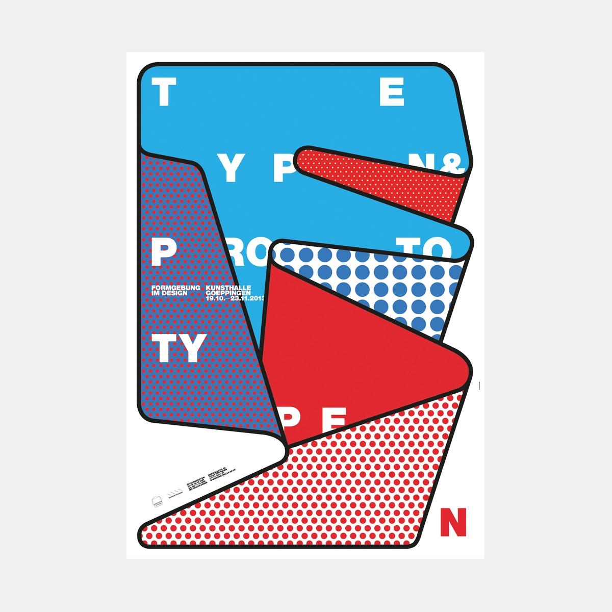 """hinzkunst Plakat """"Typen und Prototypen"""" DIN A1"""