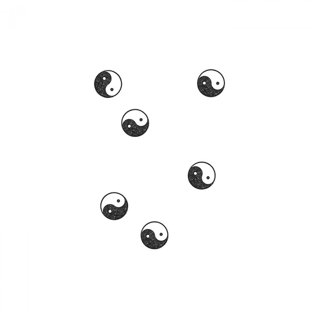 redfries stamp yin yang – Stempel
