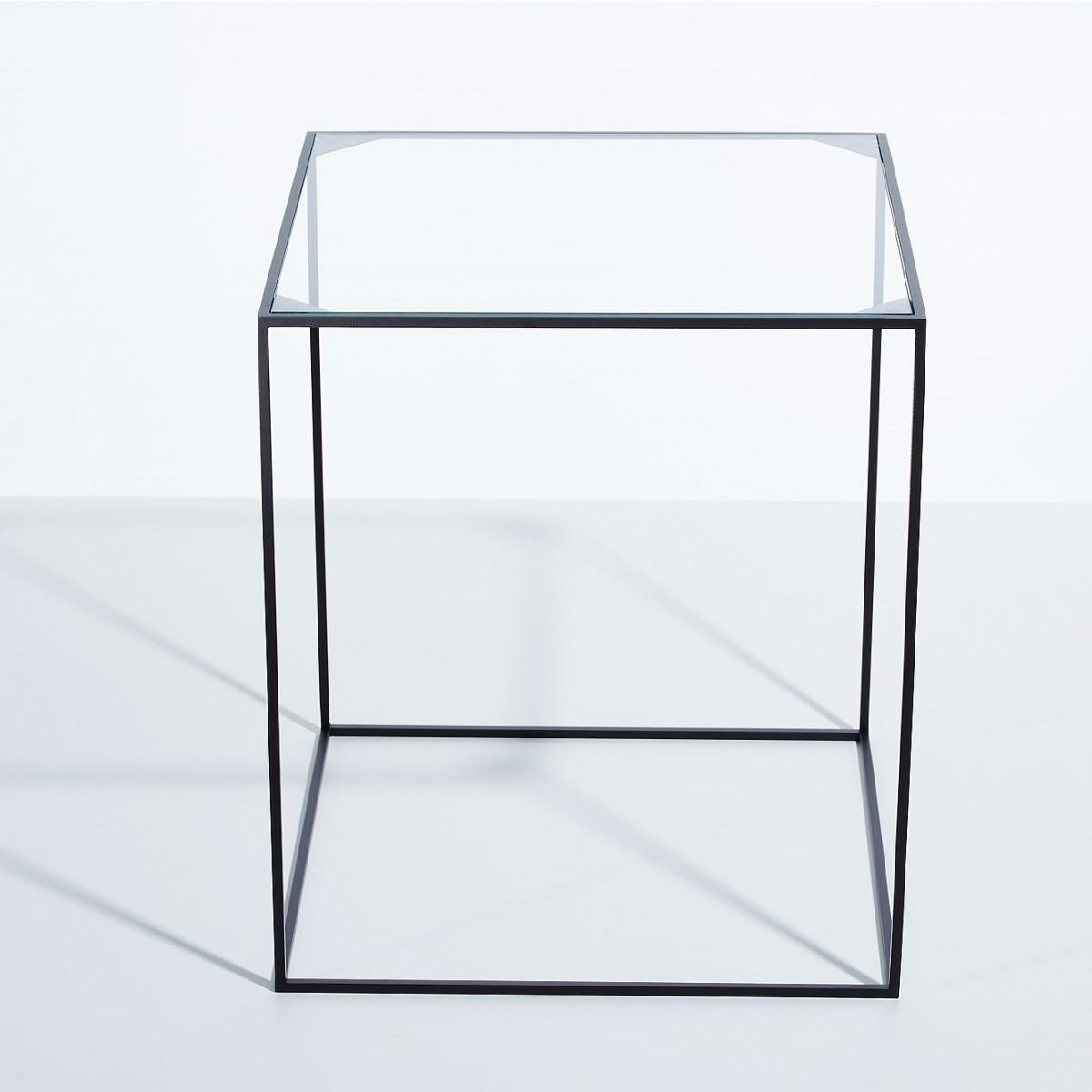 SkanBavaria Wuzzl - Beistelltisch mit Glasplatte
