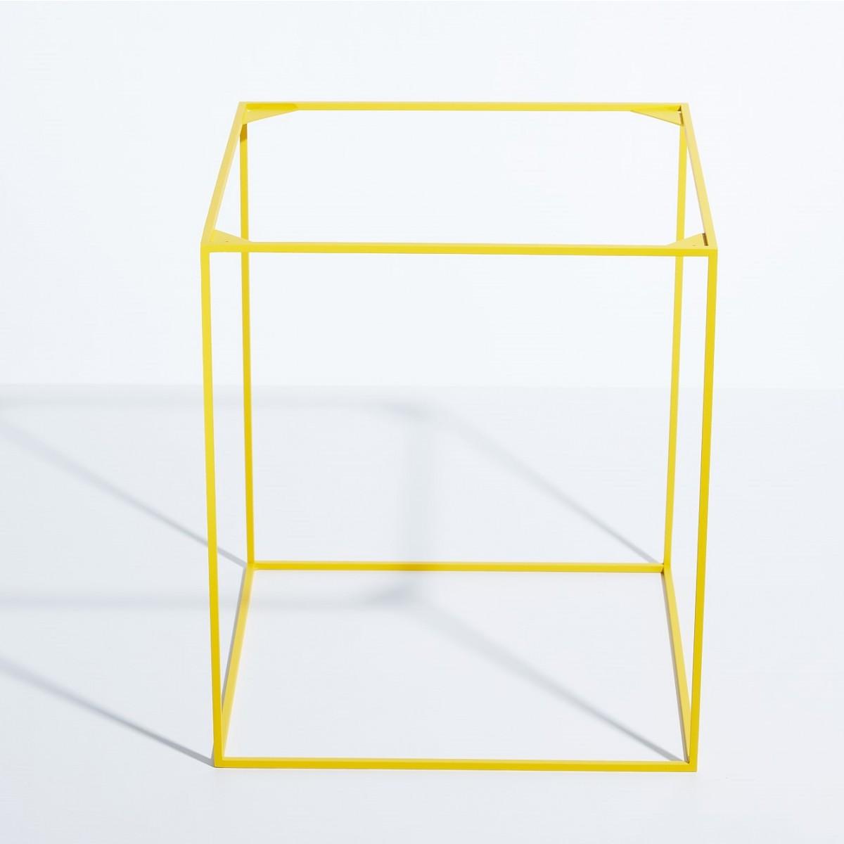 SkanBavaria Wuzzl - Beistelltisch mit Glasplatte - Sonderedition